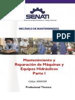 89000390 Mantenimiento y Reparacion de Maquinas Equipos Hidraulicos - Parte i