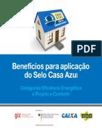 Beneficios Selo Casa Azul
