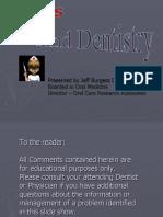 Medications and Dentistry