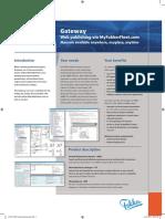 FLYFokker Leaflet Gateway