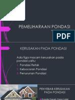 PEMELIHARAAN PONDASI.pptx