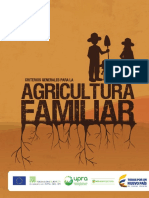 Criterios Generales Para La Agricultura Familiar