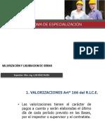 Valorizacion Clase de Luis Diaz Huiza