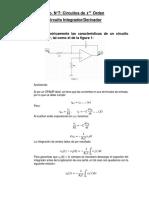 Circuito derivador/integrador