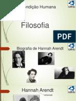 Biografia Johanna Arendt