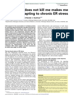 That Which Does Not Kill Me Makes Me Stronger- Adapting to Chronic ER Stress