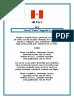 Mi Perú Letra