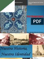 Patrimonio Cultural 2013