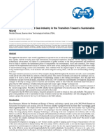 The Role of the Oil and Gas Industry Inthe Transition Toward a Sustainable World (1)