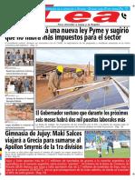 Periódico Lea Jueves 28 de Junio Del 2018