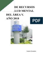 Guía de Recursos de Salud Mental. Área v. Asturias