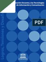 FORMACION DOCENTE Y LAS TENCOLOGIAS DE INFORMACION Y COMUNICACION .pdf