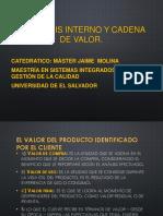 6 . Analisis Interno y Cadena de Valor