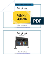 Book 1 who is Allah