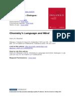 Chomsky's Language and Mind