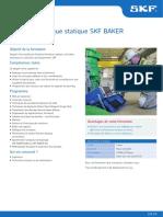 WAES Analyse Electrique Statique SKF BAKER