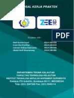 Proposal Pengajuan Kerja Praktik PT. ZEE