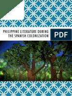 Philippine Literature (Spanish Period)