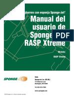 RASP Xtreme Manual de Usuario Spa