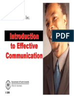 Effective Communication Workbook