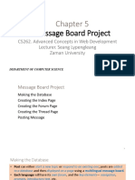 5 Message Board Project_0