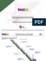 Barrio Mío - Escaleras y Muros -Lineamientos Arquitectónicos