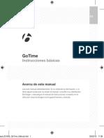 GoTime Manual ES