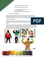 Historia de La Nutricion en Mexico