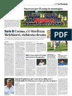 La Provincia Di Cremona 28-06-2018 - Serie B