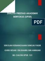 Dialog Prestasi Berfokus UPSR 2018 SKSP