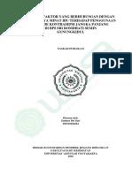 Faktor Faktor Yang Berhubungan Dengan Penggunaan IUD