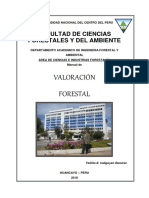 Manual de Valoracion Forestal
