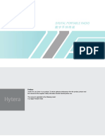 Mobile Radio Hytera Manual
