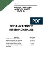 ORGANIZACIONES INTERNACIONALES
