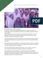"""25/06/2018  Sylvana Beltrones hace compromiso para regularizar autos """"chuecos"""""""
