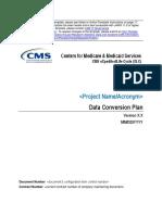 Data Conversion Plan