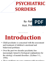 Management of Psychiatric Problem With Child