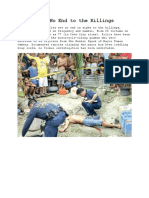 Third U.S. Report on Cebu City Killings Blamed on Police