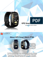 GPS locator for elderly PT88 – An essential smart wearable for elders