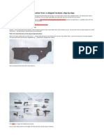 Building a Complete AR-15 Lower Reciever