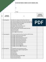 Formulir Monitoring Medication Error