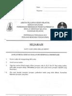 Soalan Percubaan PMR 2010 -  Kelantan - Sejarah