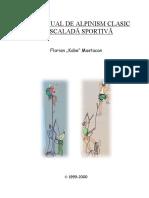 Mic Manual de Alpinism Clasic & Escaladă Sportivă