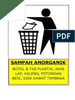 pembagian kotak sampah