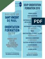 Orientation - Formation Invitation