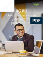RGPD Guia Para Asesorias y Despachos Profesionales