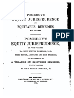 A Treatise on Equitable Remedies in Two Volumes, Vol I (1905)