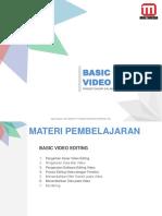 Modul Pembelajaran Editing Video