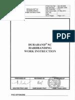 QC-WI-6.06. Duraband NC Hardbanding Work Instruction