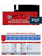 World Cup 2018 Russia Prediction